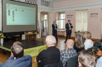 """Auch dieses Jahr war ich wieder mit einem Vortrag auf dem pm-update in Weimar vertreten. Mein Mann Philipp und ich haben unseren Vortrag """"Der Sanitäter im Projekt - Methoden aus dem Rettungsdienst im Projektmanagement nutzen"""" vorgestellt."""
